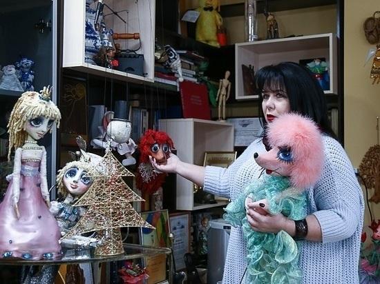 Антонина Добролюбова отметила 25 летие работы в театре кукол