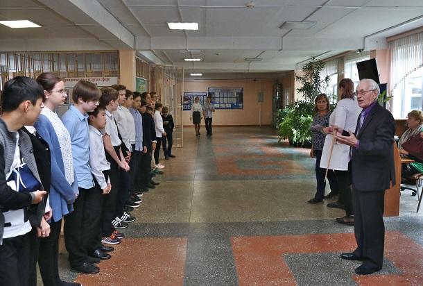 Школьников Усинска обучали гражданской обороне